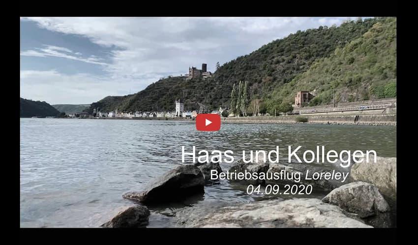 Betriebsausflug der Kanzlei Haas und Kollegen September 2020