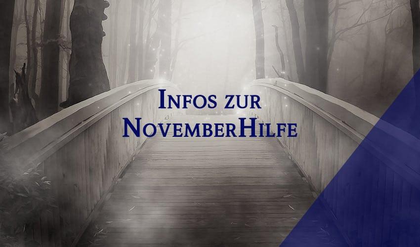 Informationen zur Novemberhilfe