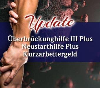 Update zur Überbrückungshilfe III Plus & Neustarthilfe Plus